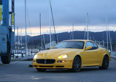 Maserati GranSport - shot in Monterey, CA