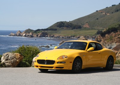 Maserati GranSport - shot on the California coast