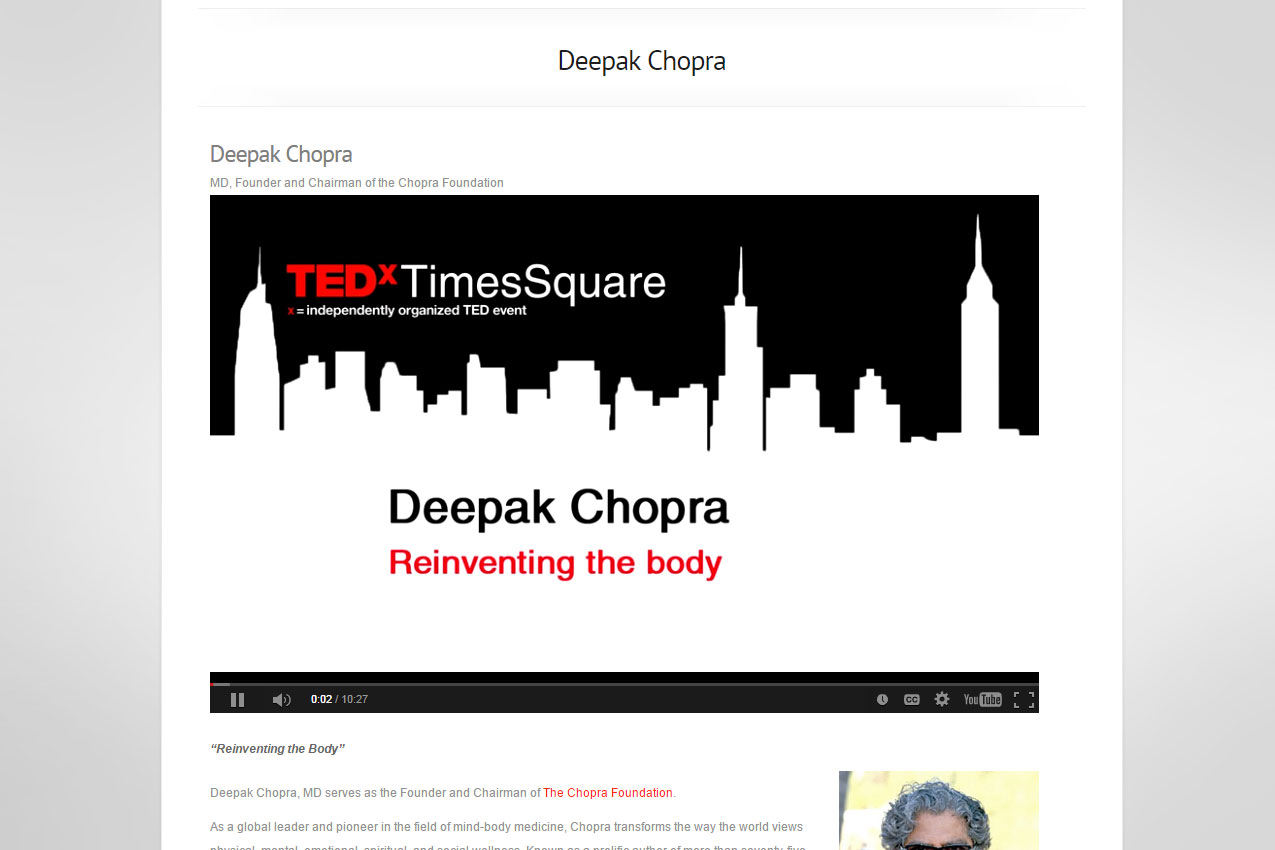 TEDx Times Square - live streaming video