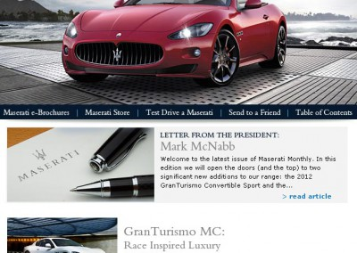 Maserati Monthly Issue 49 (online magazine)