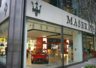 Maserati Ferrari Showroom, NYC