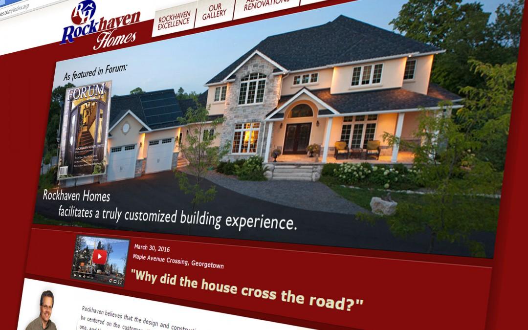 Intelliga helps Rockhaven Homes with Rapid Web Publishing + Social Media