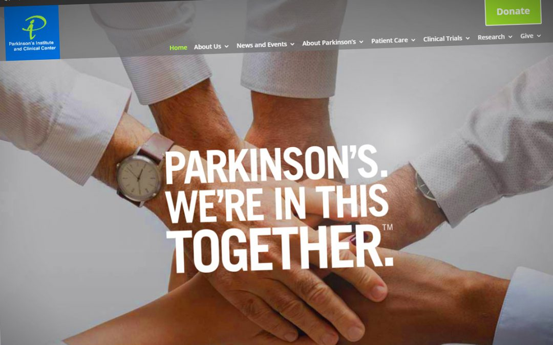New Web Site Launch for Parkinson's Institute and Clinical Center